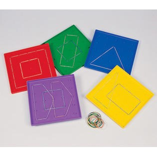 Geoboards 5X5 Pin Grid
