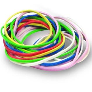 Rubber Bands Set (1/4 lb.)
