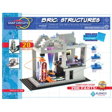 Snap Circuits Bric. Structures Energize Your Brick Building Experience