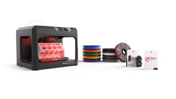 Makerbot Replicator + Essentials Pack With 1 Year Maker Care