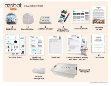 Ozobot Evo Classroom Kit 18 Pack
