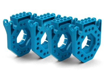 Building Brick Connectors Create and Build With Popular Brick Systems Pack of 4
