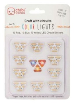 Chibi Lights Led Circuit Stickers