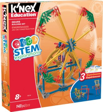 Stem Explorations- Gears Building Set