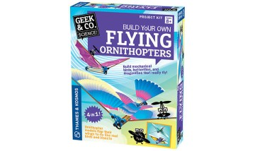 Geek & Co. Build Your Own Flying Ornithopters Project Kit
