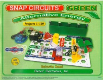 Snap Circuits Green Alternative Energy