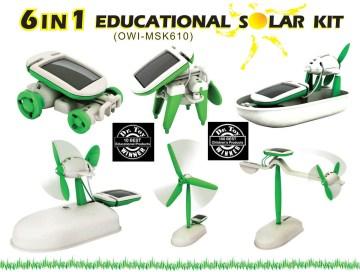 6 in 1 Educational Solar Kit
