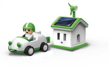 Green Life Plug in Solar Rechargeable Kit