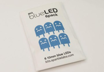 Big Blue Led 6 Pack