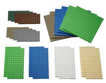 Small LEGO Building Plates