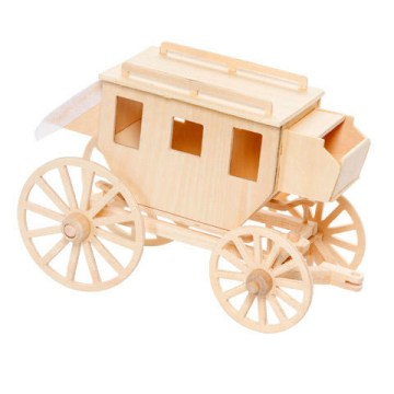 Wood Model Stagecoach