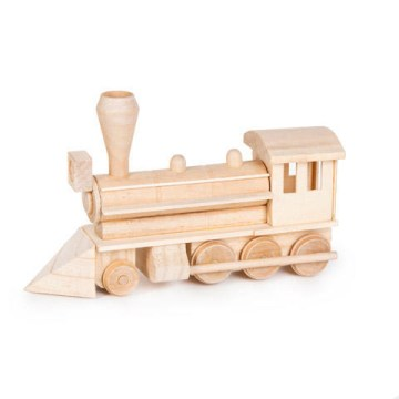 Wood Model Civil War Steam Engine