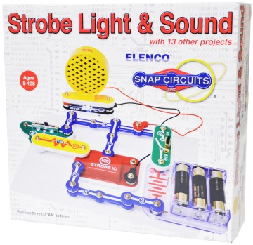 Snap Circuits Strobe Light & Sound Kit