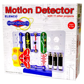 Motion Detector With 11 Other Projects