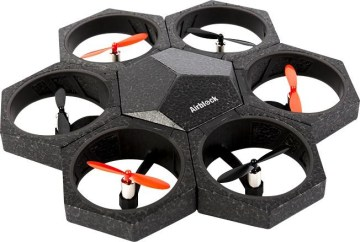 Airblock Convertible and Programmable Drone