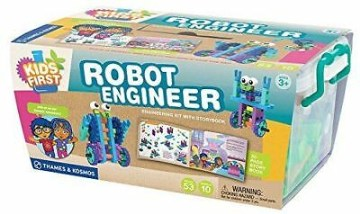 Robot Engineer Engineering Kit With Storybook