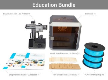 Snapmaker 3D Educational Bundle