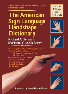 American Sign Language Handshape Dictionary, The (Book & DVD)