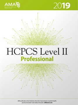 HCPCS 2019 Level II Professional Edition